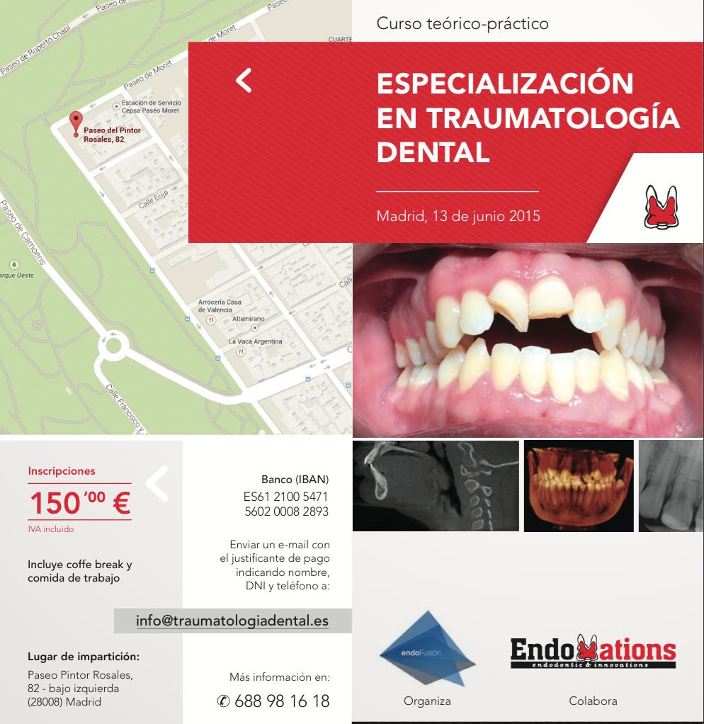 Curso Traumatologia Dental Madrid 1