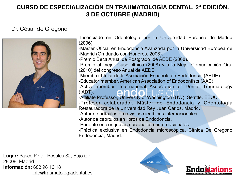 Traumatologia Dental_Cesar de Gregorio